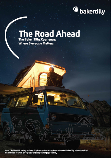 The Road Ahead_Baker Tilly Career Guide_Cover