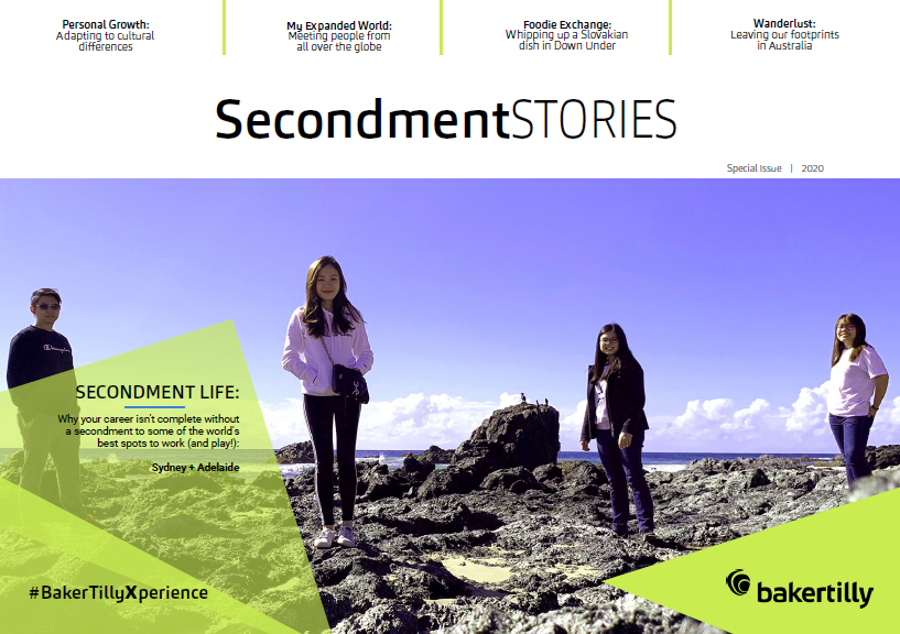 Baker Tilly Secondment Stories_Special Issue_2020_Cover Page